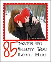 Ways to show love is the topic for today.