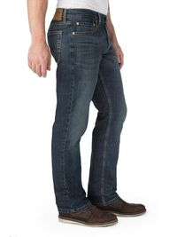 Signature by Levi Strauss & Co. Men's Straight Fit Jeans $44.99