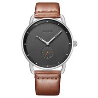 BAOGELA MINIMALIST Quartz Leather Luxury Men's Watch $59.99