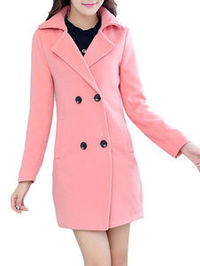 Wool Trench Coat Women