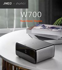JmGO W700 DLP LED Projector 550-750 ANSI Lumens Support 1080P 40-300 inch Screen Home Theater Bussiness Entertainment Projector Chinese Version