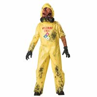 Hazmat Hazard Boys Costume Size 8 https://costumecauldron.com