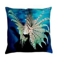 Colorful Lionfish Everyday Pillow