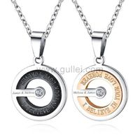 Matching Couple Necklaces Anniversary Gift https://www.gullei.com/matching-couple-necklaces-anniversary-gift.html
