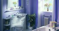 Lilacs and purples are soothing