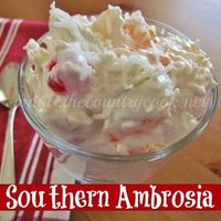 The Country Cook: Southern Ambrosia