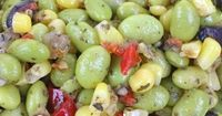 Succotash, a traditional southern dish, can be made year-round using frozen lima beans. A traditional succotash recipe with a sprinkling of fresh herbs, this di