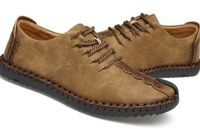 Breathable Lace-Up Leather Casual Loafers Moccasins Mens Shoes,NEW,on Sale! More Info:https://cheapsalemarket.com/product/breathable-lace-up-leather-casual-loafers-moccasins-mens-shoes/
