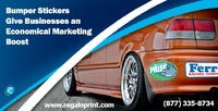 Car Bumper Stickers Printing at RegaloPrint
