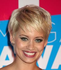 short haircuts for fat faces and thin hair Short Haircuts for Fat Faces: Be Confident to Try Something New