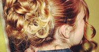 beautiful prom hair   Hairstyles and Beauty Tips