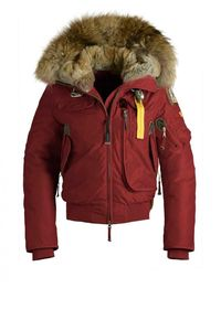 Parajumpers Gobi Woman Outerwear Red Outlet pjsparajumperssale.net