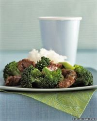 Sesame Beef and Broccoli and other kid-friendly foods