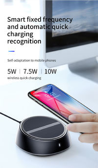 Baseus 2 in 1 10W 7.5W 5W Wireless Charger+3.4A 3 Ports USB Charger For iPhone X XS MAX XR S9 Note 9