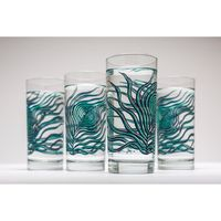 Peacock Feather Glasses $25.00