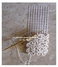 crochet onto plastic canvas - idea for bottom of market bag