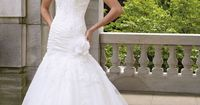 Wedding dresses and bridals gowns by David Tutera for Mon Cheri for every bride at an affordable price �'|�' Wedding Dresses�'�'|�'�'style #112221 - Farrah