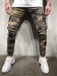 Street Style Camouflage Jeans 4238 $68.00