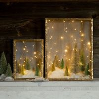 Magical Winter shadow boxes