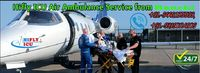 Low Cost Air Ambulance in Ranchi by HIFLY ICU