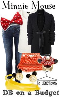 Minnie Mouse...dress down!