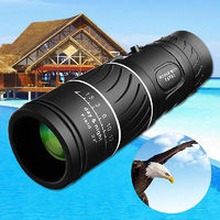 IPRee® 16X52 Outdoor Monocular HD Optic Day Night Vision Telescope Dual Focus 66m/8000m Camping Travel