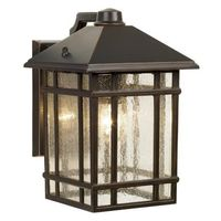 "Jardin du Jour Sierra Craftsman 11"" High Outdoor Wall Light 