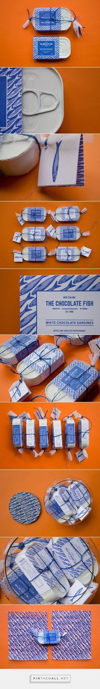 The chocolate fish / The chocolate fish is a New Zealand chocolate brand, that sells chocolate sardines destined to children.