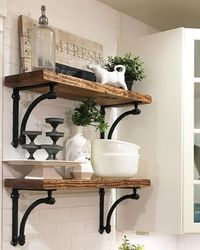 If you feel as though your kitchen is a bit cramped, then it is wise to re-organize things in order to create some open spaces in it. A great way to turn your k