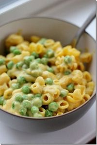 Macaroni & Peas (Kid-Friendly & Dairy-Free!) by Daily Garnish