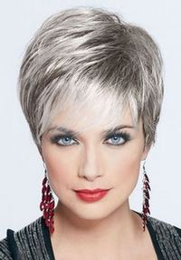 Wedge Haircuts for Women Over 60   ... hairstyles for women over 60   Grey Hair Styles Over 60   Ladies Wigs