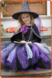 DIY Halloween witch costume
