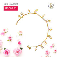 The bracelet from FKJewellers offers a touch of unexpected spark with beautiful design.