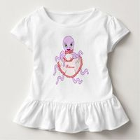 Octavia Octopus Toddler T-shirt