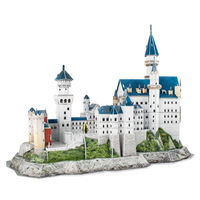 120 Pieces 3d Puzzle Germany Neuschwanstein Castle Model Home Hobby Family Gifts $41.80