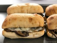 These Vegetarian French Dip Sandwiches are fast, easy, and feature a salty-sweet herb infused vegetarian au jus for dipping. Step by step photos.