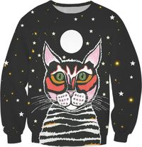 Moon Cat Sweatshirt $59.95