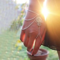 Tassel chain fashion Fatima lucky ladies even bracelets B018 - Bonny YZOZO Boutique Store