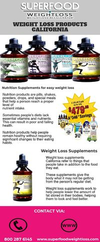 Weight Loss Products California