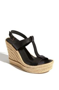 black wedge. Dang, I wish I could wear these!!