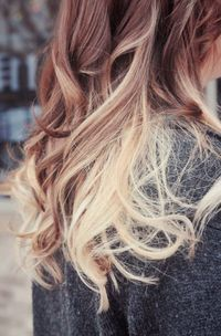 i don't know why but i like ombre hair