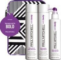 Paul Mitchell Gifts and Sets Because Youre Bold Set includes: Extra Body Daily Shampoo 300ml: This daily shampoo thickens and volumizes fine hair. Helps repair worn-down locks, boosts body and maximizes shine. Makes hair more manageable and easier http://...