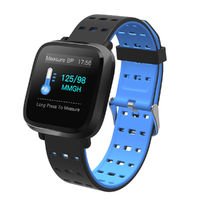 "XANES VO420 1.3"" Color Touch Screen IP67 Waterproof Smart Watch Pedometer Heart Rate Blood Oxygen Sleep Monitor Fitness Smart Bracelet"