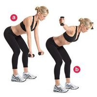 First Trimester Strength Workout from Women's Health. Great combos!