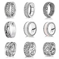 Price: $22.64 | Product: Hearts Entwining Sterling Silver Signature Rings For Women | Visit our online store https://ladiesgents.ca