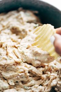 Caramelized Onion Dip - simple party goodness that people rave about every time! Made with just 7 easy ingredients. My favorite appetizer.