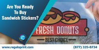 Sandwich Stickers. Visit @ www.regaloprint.com to read complete story