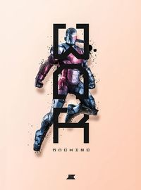 War Machine - Stylized Posters Of Superheroes And Villains - DesignTAXI.com by Josip Kelava
