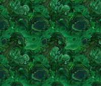Malachite fabric 2 fabric by ravynka on Spoonflower - custom fabric