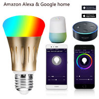 Smart light bulb Works with Amazon Alexa and Google Home